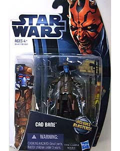 HASBRO STAR WARS THE CLONE WARS 2012 BASIC FIGURE CAD BANE CW4