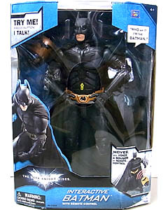 THINKWAY TOYS 映画版 THE DARK KNIGHT RISES INTERACTIVE BATMAN WITH REMOTE CONTROL