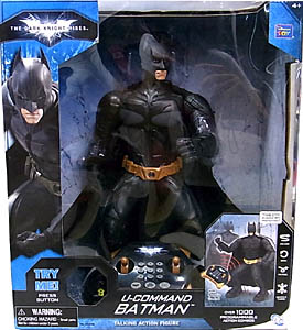 THINKWAY TOYS 映画版 THE DARK KNIGHT RISES U-COMMAND BATMAN WITH TALKING ACTION