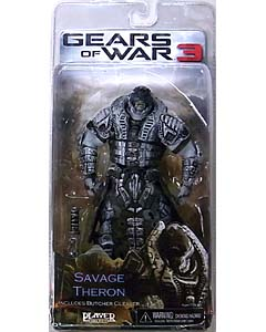 NECA GEARS OF WAR 3 シリーズ3 SAVAGE THERON [BLACK HELMET]