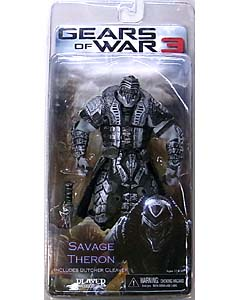 NECA GEARS OF WAR 3 シリーズ3 SAVAGE THERON [WHITE HELMET]