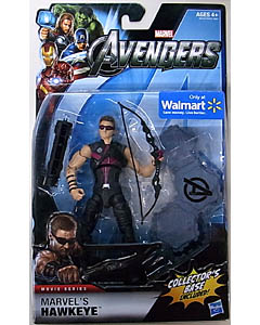 HASBRO 映画版 THE AVENGERS USA WALMART限定 6インチ MOVIE SERIES MARVEL'S HAWKEYE