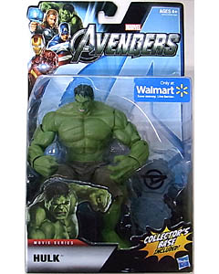 HASBRO 映画版 THE AVENGERS USA WALMART限定 6インチ MOVIE SERIES HULK