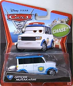 MATTEL CARS2 シングル CHASE OFFICER MURAKARMI 台紙傷み特価