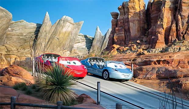 CARS USAディズニーテーマパーク限定 CARS LAND RADIATOR SPRINGS RACER [RED] ブリスターハガレ特価