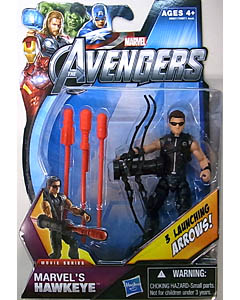 HASBRO 映画版 THE AVENGERS 3.75インチ MOVIE SERIES MARVEL'S HAWKEYE