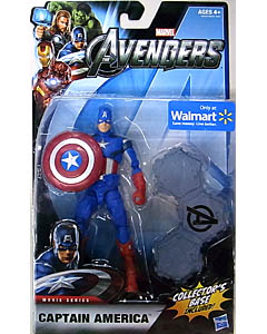 HASBRO 映画版 THE AVENGERS USA WALMART限定 6インチ MOVIE SERIES CAPTAIN AMERICA