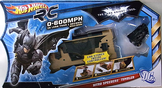 MATTEL HOT WHEELS 映画版 THE DARK KNIGHT RISES RC NITRO SPEEDERS TUMBLER