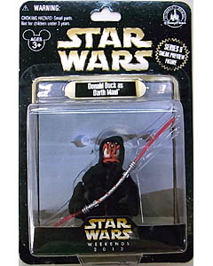 STAR WARS USA ディズニーテーマパーク 2012年 WEEKEND限定 フィギュア シリーズ6 DONALD DUCK AS DARTH MAUL [SNEAK PREVIEW FIGURE]