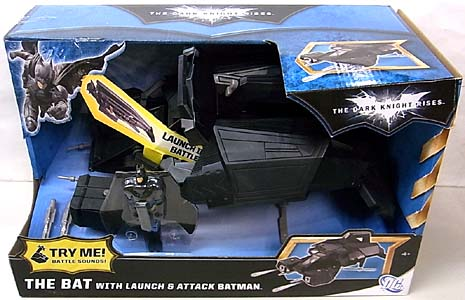 MATTEL 映画版 THE DARK KNIGHT RISES THE BAT WITH LAUNCH & ATTACK BATMAN
