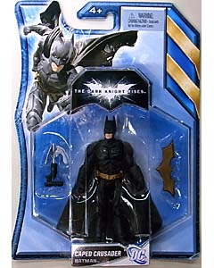 MATTEL 映画版 THE DARK KNIGHT RISES 4インチ BATMAN [CAPED CRUSADER] 台紙傷み特価