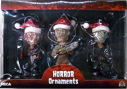 NECA HORROR ORNAMENTS 3PACK