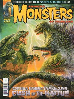 FAMOUS MONSTERS OF FILMLAND #262