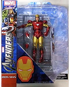DIAMOND SELECT MARVEL SELECT 映画版 THE AVENGERS IRON MAN