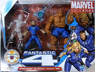 HASBRO MARVEL UNIVERSE 4PACK VARIANT FANTASTIC 4 [INVICIBLE WOMAN CLEAR]