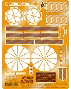 PARAGRAFIX AMT 1/650スケール スタートレック カッタウェイ U.S.S.エンタープライズ NCC-1701用 エッチングパーツ / PGX162