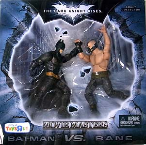 MATTEL 映画版 THE DARK KNIGHT RISES USAトイザラス限定 6インチ MOVIE MASTERS 2PACK BATMAN VS. BANE