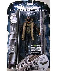 MATTEL 映画版 THE DARK KNIGHT RISES 6インチ MOVIE MASTERS BANE 台紙傷み特価