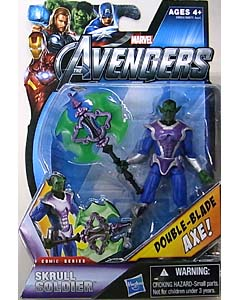 HASBRO 映画版 THE AVENGERS 3.75インチ COMIC SERIES SKRULL SOLDIER