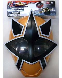 USA BANDAI POWER RANGERS SAMURAI MEGA RANGER MASK [GOLD / LIGHT]