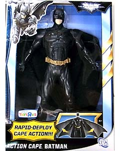 MATTEL 映画版 THE DARK KNIGHT RISES USAトイザラス限定 12インチ ACTION CAPE BATMAN