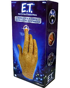 NECA E.T. HAND WITH LIGHT UP FINGER REPLICA