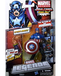 HASBRO MARVEL LEGENDS 2012 SERIES 2 ARNIM ZOLA SERIES CAPTAIN AMERICA 台紙傷み特価
