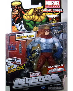 HASBRO MARVEL LEGENDS 2012 SERIES 2 ARNIM ZOLA SERIES VARIANT MARVEL'S WRECKING CREW PILEDRIVER ブリスター傷み特価