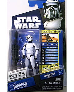 HASBRO STAR WARS THE CLONE WARS BASIC FIGURE ARF TROOPER [CANNON FIRES MISSILE!] CW18