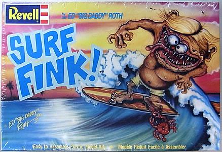REVELL ED ROTH SURF FINK 組み立て式プラモデル