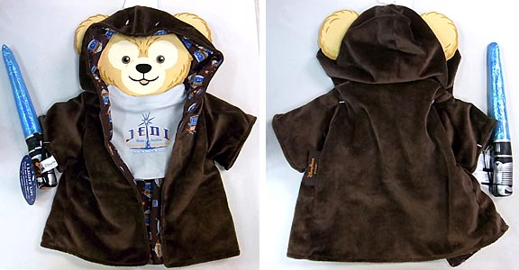DISNEY USAディズニーテーマパーク限定 DUFFY THE DISNEY BEAR COSTUME [DUFFY THE DISNEY BEAR THE JEDI TRAINING ACADEMY ROBE COSTUME]
