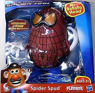 HASBRO 映画版 THE AMAZING SPIDER-MAN Mr.POTATO HEAD SPIDER SPUD ワケアリ特価