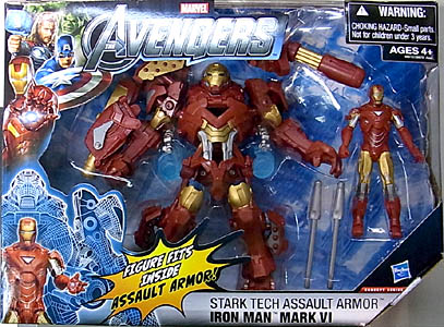 HASBRO 映画版 THE AVENGERS 3.75インチ CONCEPT SERIES STARK TECH ASSAULT ARMOR IRON MAN MARK VI