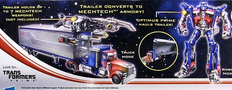 HASBRO TRANSFORMERS MOVIE TRILOGY DELUXE CLASS OPTIMUS PRIME