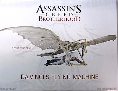 NECA PLAYER SELECT ASSASSIN'S CREED BROTHERHOOD DA VINCI'S FLYING MACHINE