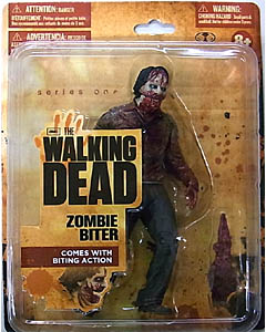 McFARLANE TOYS THE WALKING DEAD TV 5インチアクションフィギュア SERIES 1 ZOMBIE BITER [WALMART EXCLUSIVE PACKAGE]