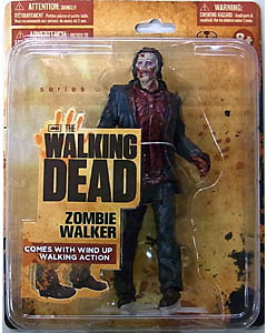 McFARLANE TOYS THE WALKING DEAD TV 5インチアクションフィギュア SERIES 1 ZOMBIE WALKER [WALMART EXCLUSIVE PACKAGE]