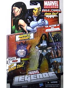 HASBRO MARVEL LEGENDS 2012 SERIES 2 ARNIM ZOLA SERIES MARVEL'S MADAMES MADAME MASQUE