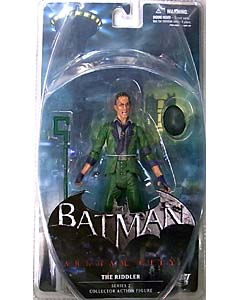 DC DIRECT BATMAN: ARKHAM CITY SERIES 2 THE RIDDLER ブリスター傷み特価