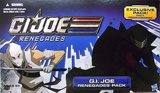 HASBRO G.I.JOE RENEGADES USA AMAZON限定 4PACK G.I.JOE RENEGADES PACK