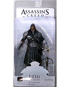 NECA PLAYER SELECT ASSASSIN'S CREED BROTHERHOOD EZIO [ONYX COSTUME HOODED]