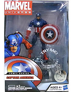HASBRO MARVEL UNIVERSE USA TOYSRUS限定 LIGHT UP BASE SERIES 2 CAPTAIN AMERICA