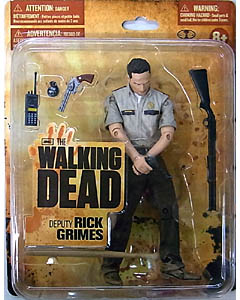 McFARLANE TOYS THE WALKING DEAD TV 5インチアクションフィギュア SERIES 1 DEPUTY RICK GRIMES [WALMART EXCLUSIVE PACKAGE]