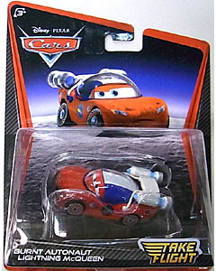 MATTEL CARS TAKE FLIGHT シングル BURNT AUTONAUT LIGHTNING McQUEEN