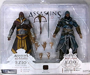 NECA PLAYER SELECT USA TOYSRUS限定 ASSASSIN'S CREED 2PACK ブリスター傷み特価