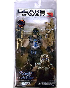 NECA GEARS OF WAR 3 USA TOYSRUS限定 BEST OF GEARS OF WAR GOLDEN COG SOLDIER [国内版]