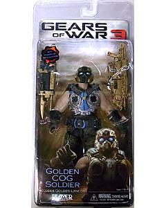 NECA GEARS OF WAR 3 USA TOYSRUS限定 BEST OF GEARS OF WAR GOLDEN COG SOLDIER [国内版]