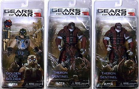 NECA GEARS OF WAR 3 USA TOYSRUS限定 BEST OF GEARS OF WAR 3種セット [国内版]
