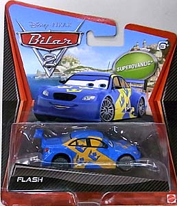 MATTEL CARS2 シングル SUPER CHASE FLASH