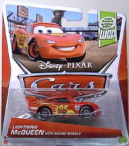 MATTEL CARS 2013 シングル LIGHTNING McQUEEN WITH RACING WHEELS ブリスター傷み特価